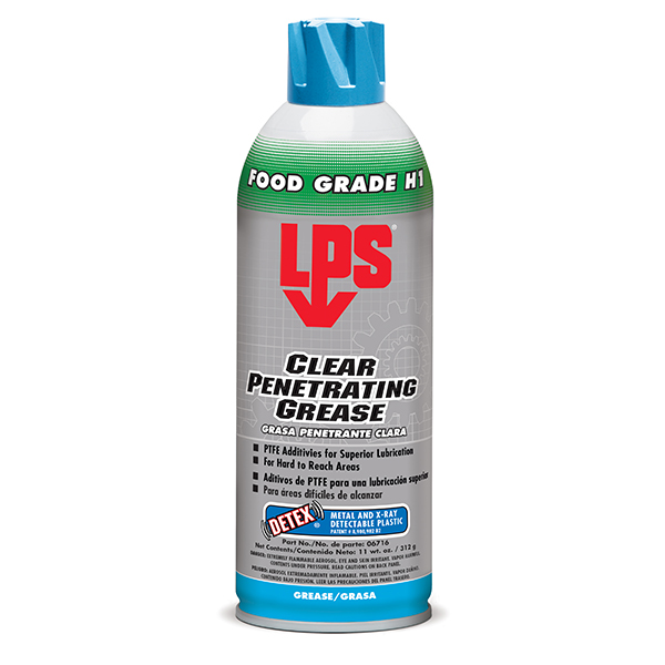 Clear Penetrating Grease