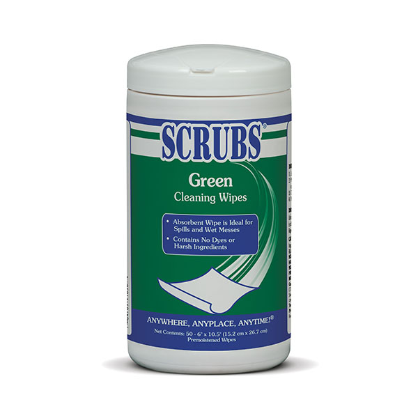Green Cleaning Wipes
