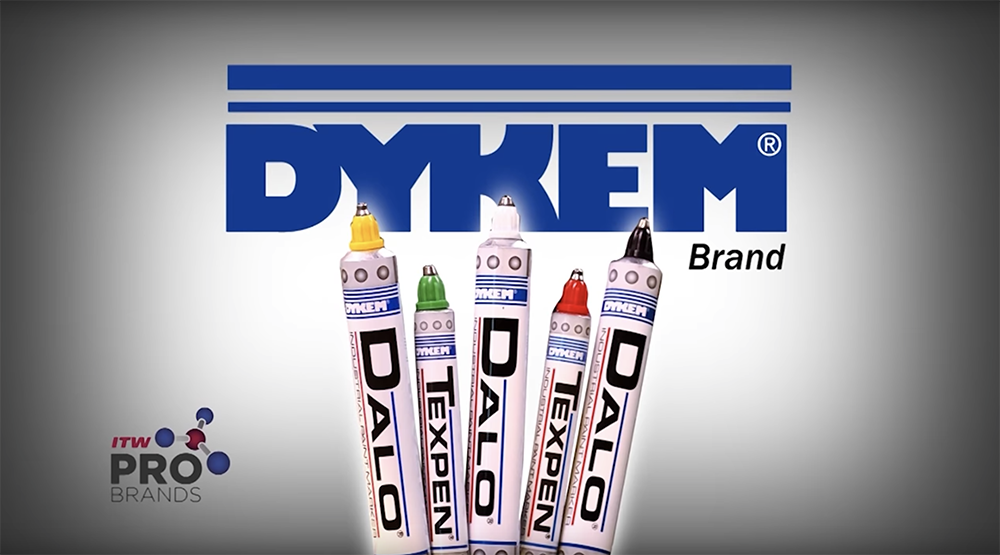 DYKEM DALO & TEXPEN STEEL TIP PAINT MARKERS: Writing on any surface