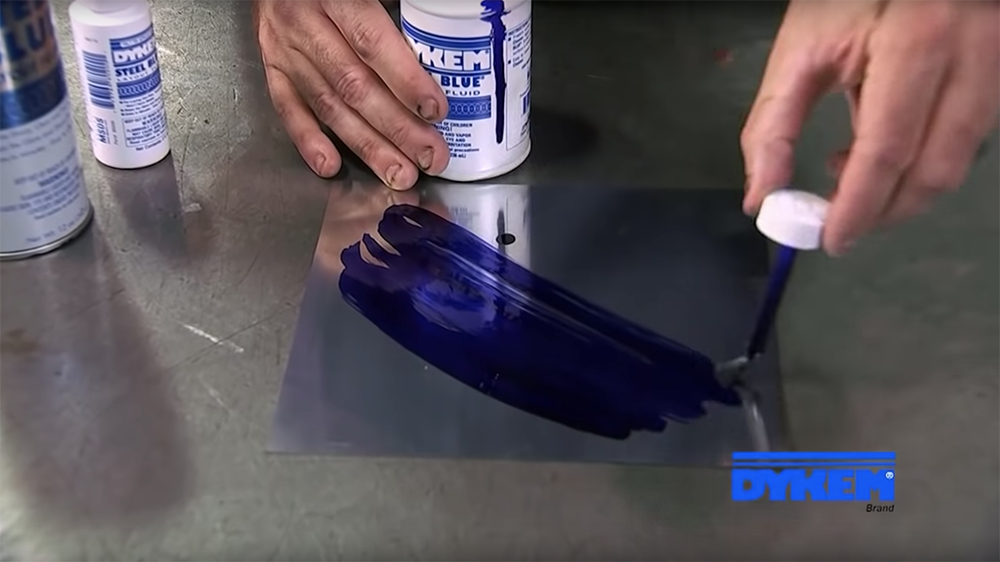 DYKEM STEEL BLUE LAYOUT FLUID for metalworking